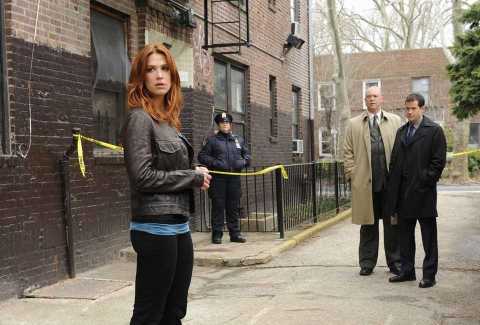 Poppy Montgomery in a scene from