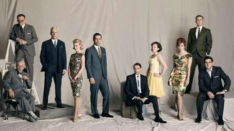 The cast of Mad Men. The series is