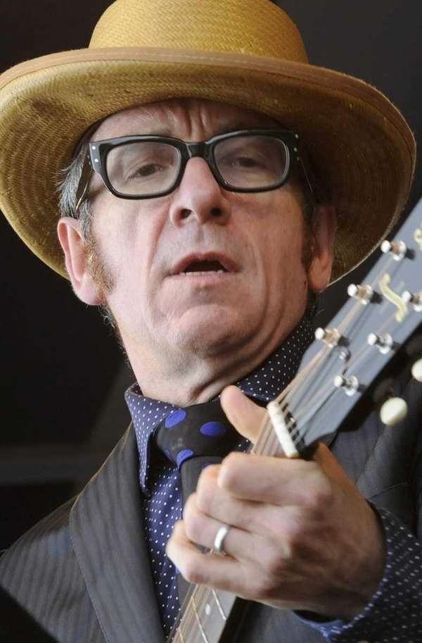 Recording Artist Elvis Costello and The Sugarcanes perform