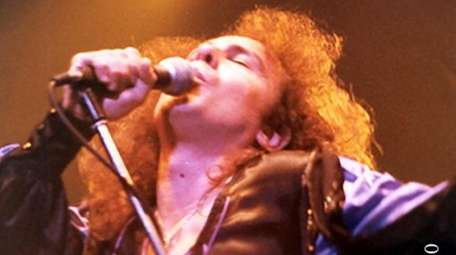 Black Sabbath frontman Ronnie James Dio performed at