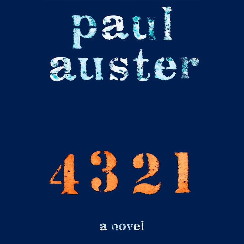 "The audiobook edition of ""4 3 2 1"""