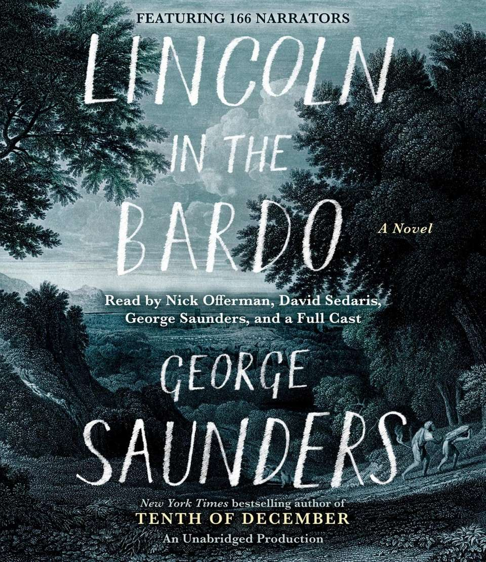 "The audiobook edition of George Saunders' ""Lincoln in"