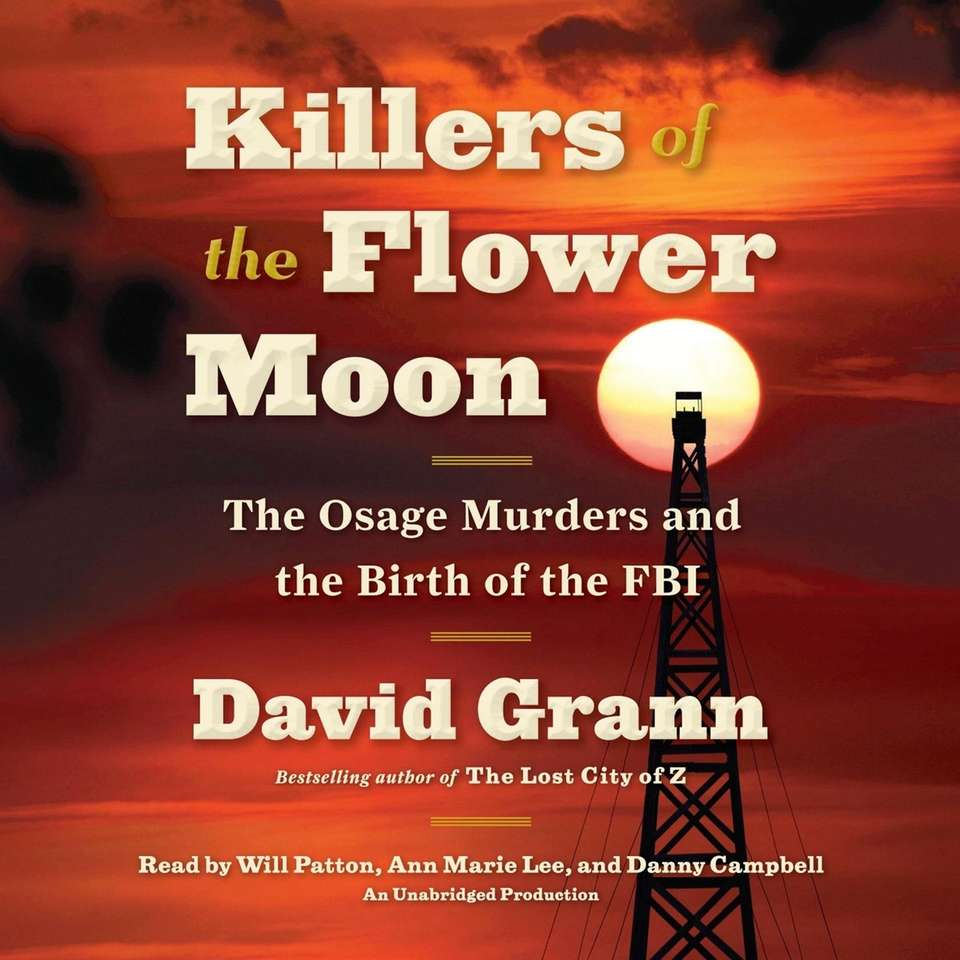 "The audiobook edition of ""Killers of the Flower"