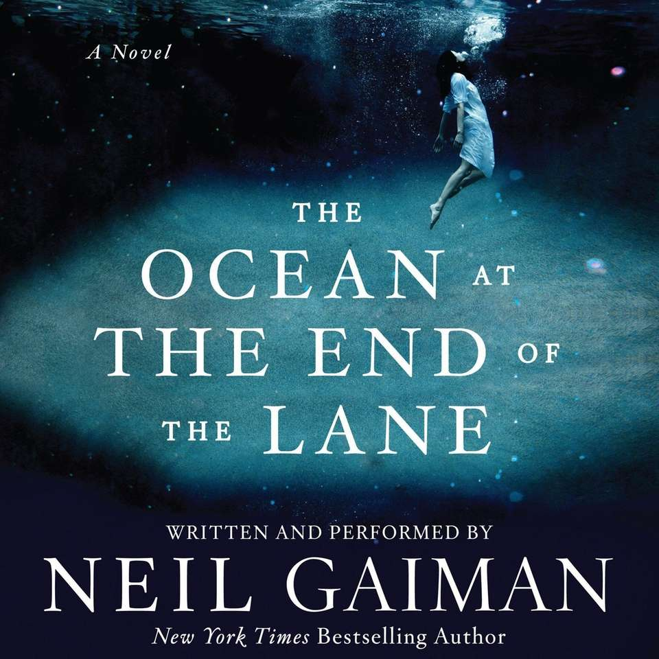 "Listening to Neil Gaiman read ""The Ocean at"