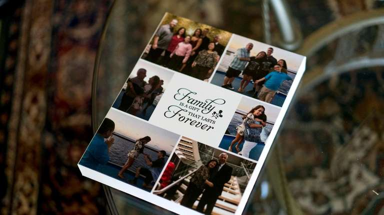 Angelica and Luis Escobar keep a book of