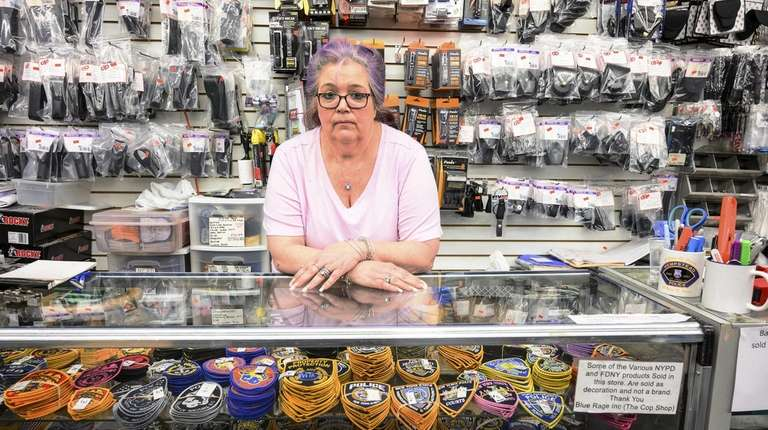 Susan Piccolo, co-owner of The Cop Shop in