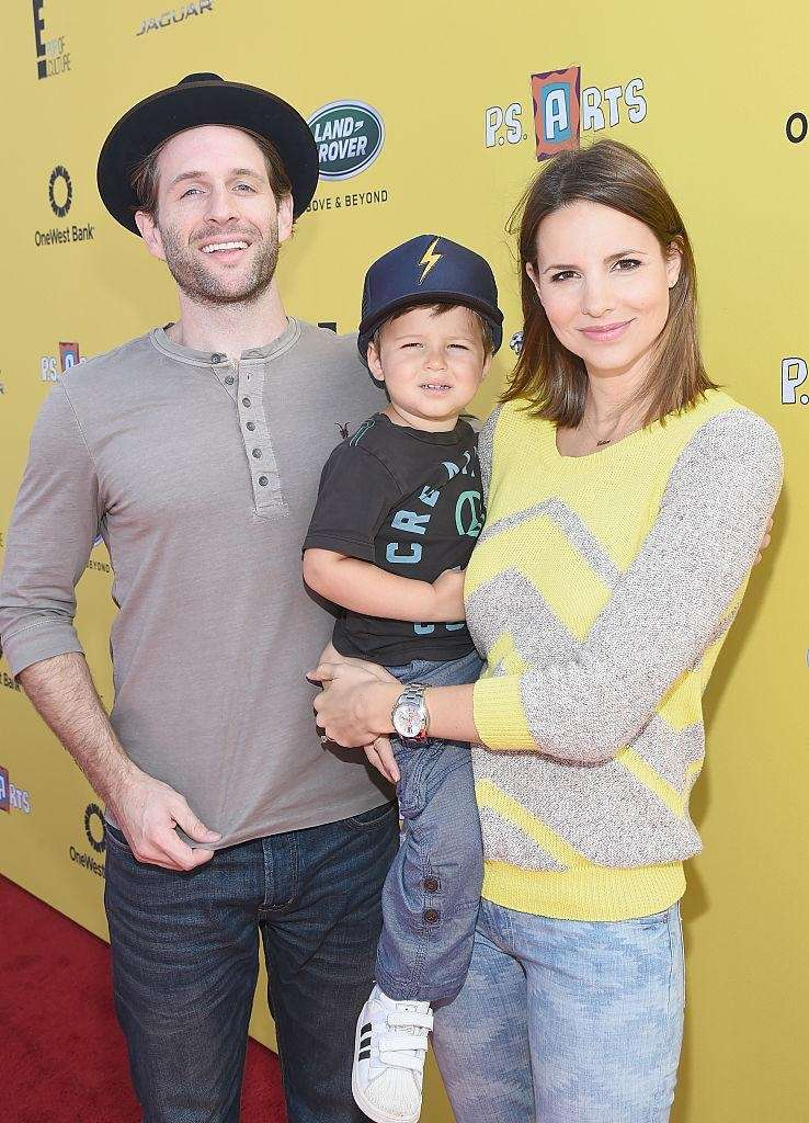 Parents: Glenn Howerton and Jill Latiano Children: Miles,