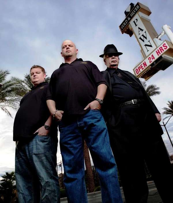 Corey Harrison, Rick Harrison, and Richard Harrison in