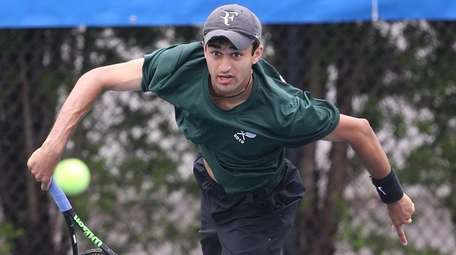 Wheatley's Karan Amin competes in the New York