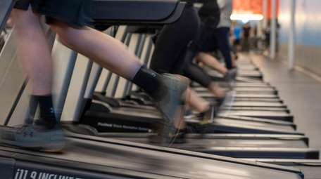Treadmills get a workout at Blink Fitness in