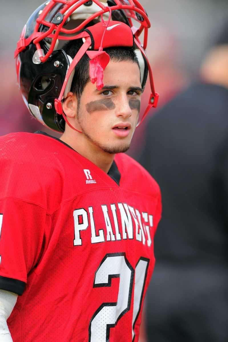 Plainedge's Ralph Caccavale during Lynbrook's 45-27 victory. (Sept.