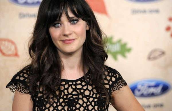 Zooey Deschanel, a cast member in the television