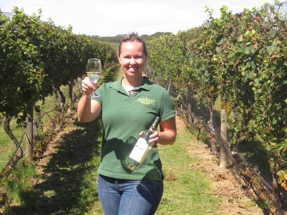 Bridget Q. Micieli- Martinez, Palmer Vineyards tasting room