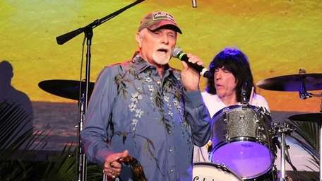 The Beach Boys' Mike Love backed by the