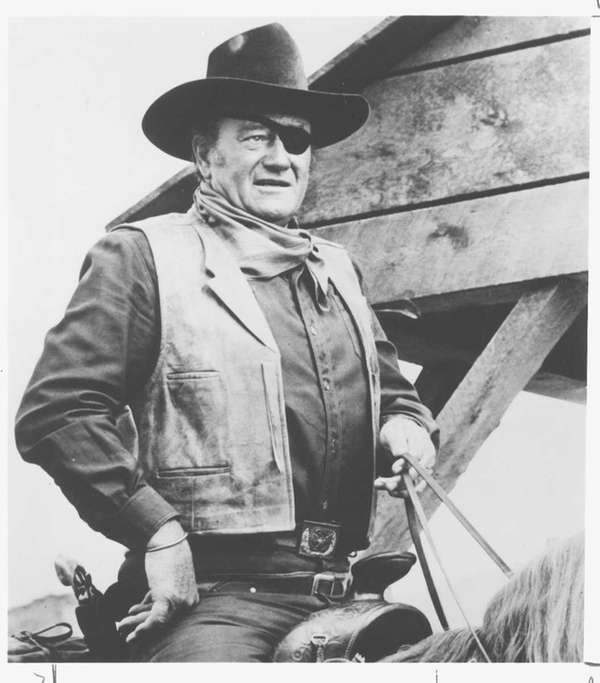 John Wayne in quot;True Grit''.