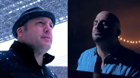 Kevin James (left) and Mike Del Guidice (right).