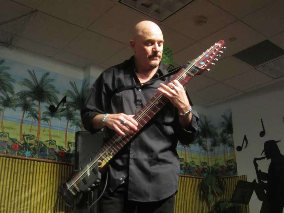 Steve Adelson of the Steve Adelson Stick-Tet performs