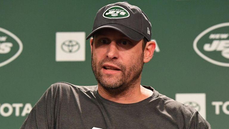 Jets coach Adam Gase, also the interim general