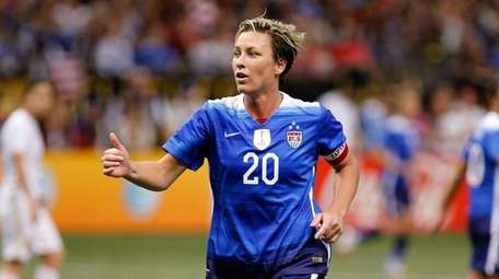 16 December 2015: Abby Wambach #20 of the