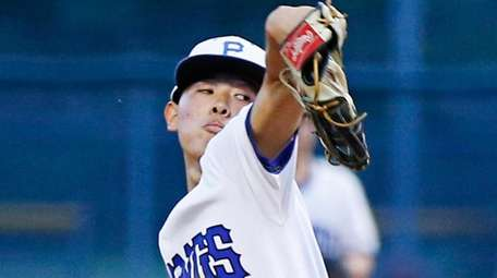 Alex Chang of Port Washington dominated on the