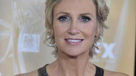 Actress Jane Lynch hosted the 2011 Emmy Awards