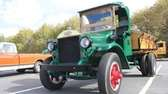 A 1922 Mack Model AB truck with a