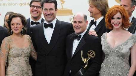 The cast and crew of 'Mad Men.'