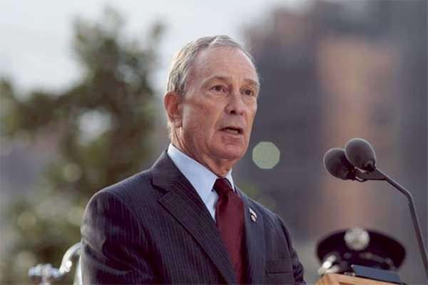 An undated file photo of Michael Bloomberg.