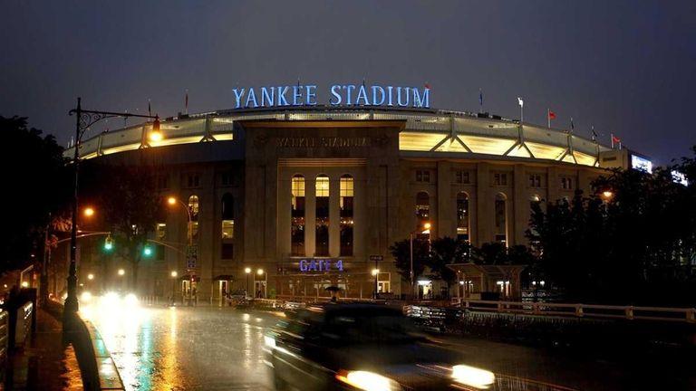 An exterior view of Yankee Stadium. (Sept. 6,