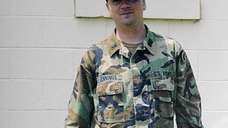 Former Army National Guard Lt. John Jennings battled
