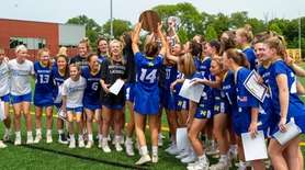 Mattituck celebrates their victory is the Long Island