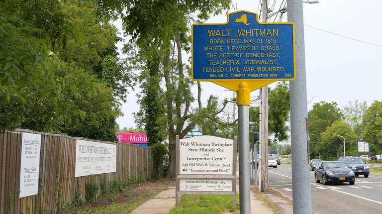New historical marker commemorates the birthplace of poet