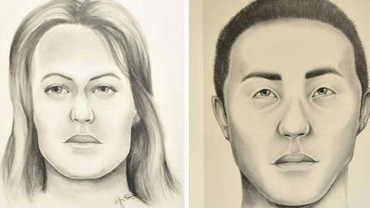 Sketches released Tuesday by Suffolk police show renderings
