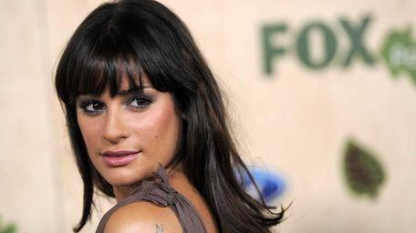 Lea Michele, a cast member in
