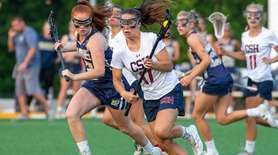 Cold Spring Harbor's no. 17 Grace Tauckus moves