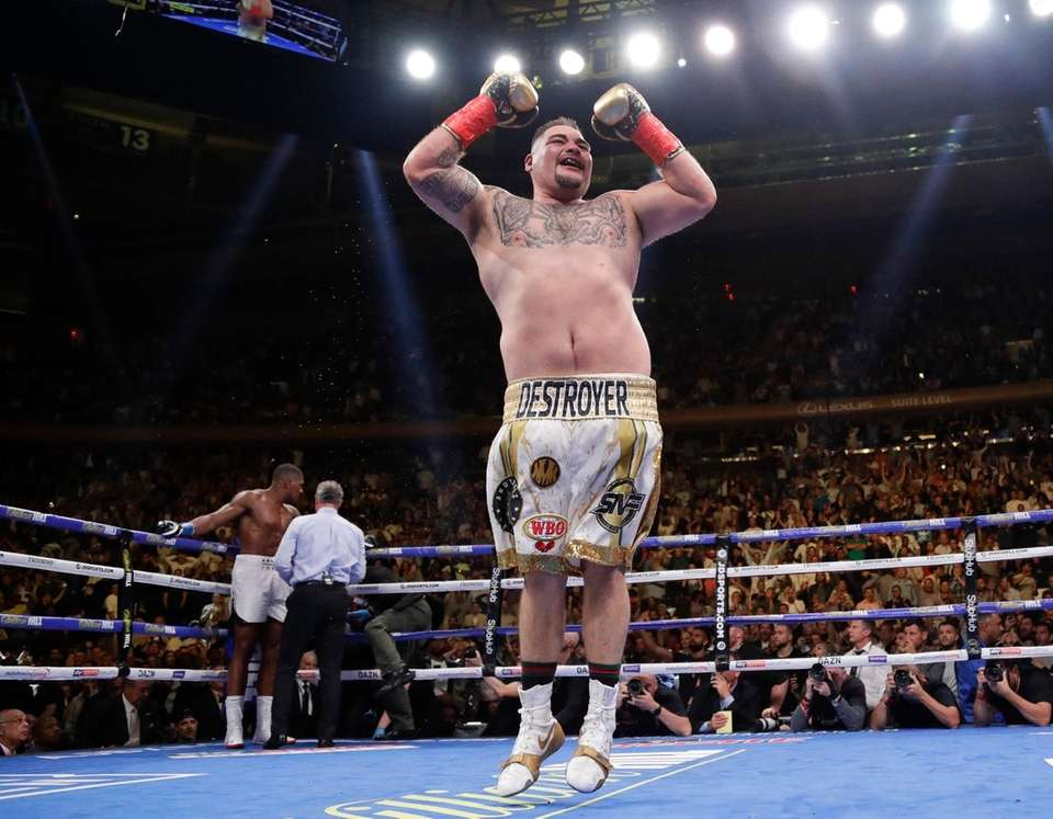 Andy Ruiz is now 33-1 with 22 knockouts