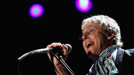 Roger Daltrey of the band The Who performs