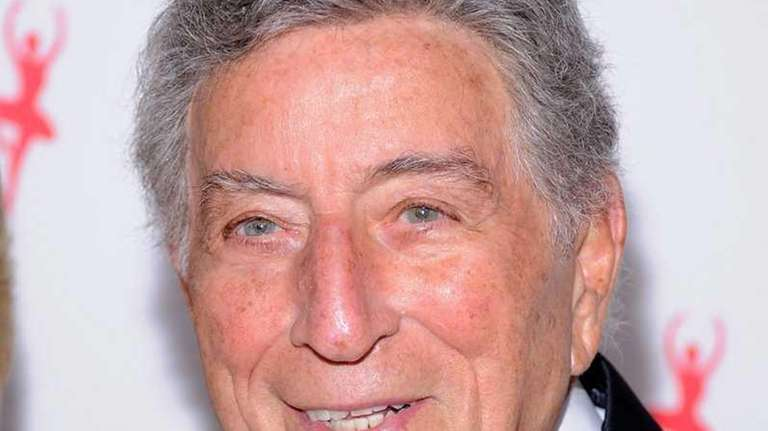 Tony Bennett attends Tony Bennett's 85th Birthday Gala