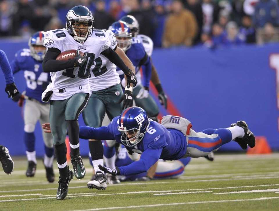 EAGLES 38, GIANTS 31 Biggest lead: 21 points