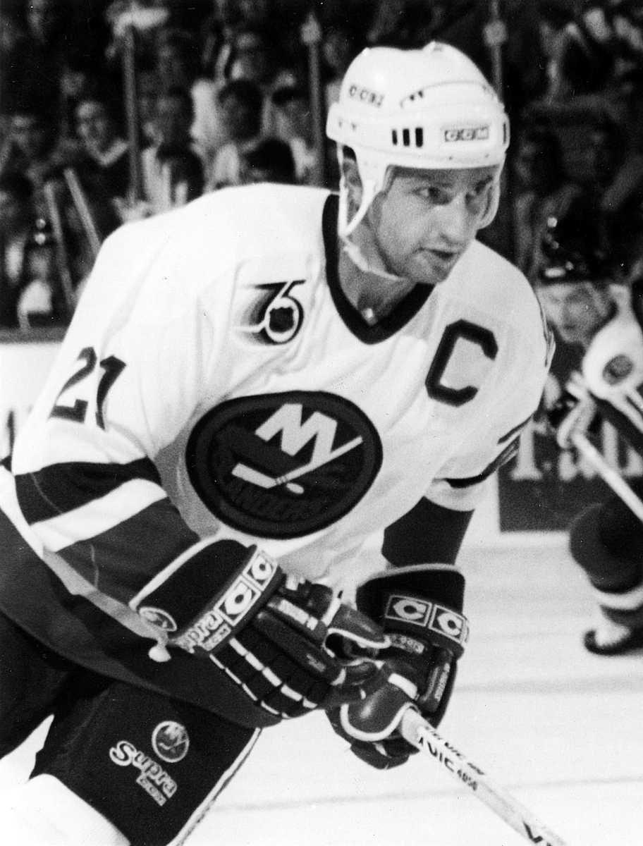 BRENT SUTTER Captain: 1987-91