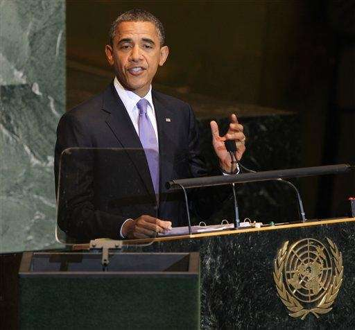 President Barack Obama addresses the United Nations General