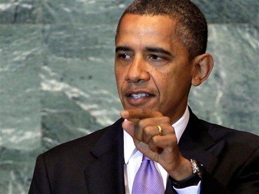 President Barack Obama addresses the United Nations General