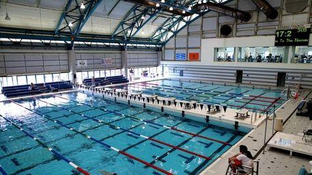 The Nassau County Aquatic Center. Built in 1998