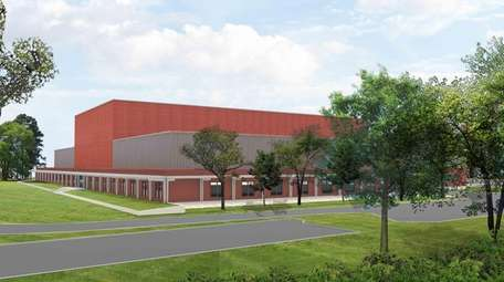 Preliminary rendering of a proposed film studio on