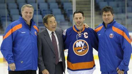 New York Islanders general manager Garth Snow, owner