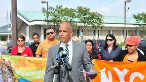 Luis Valenzuela, executive director of the Long Island