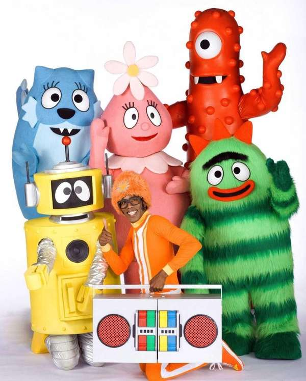"""Yo Gabba Gabba"" on Nick Jr. makes the"
