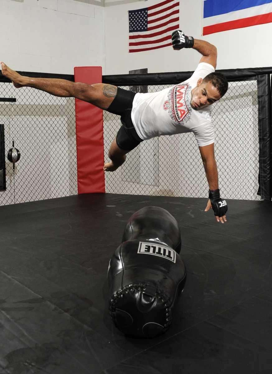 Dennis Bermudez, a mixed martial artist from Massapequa,