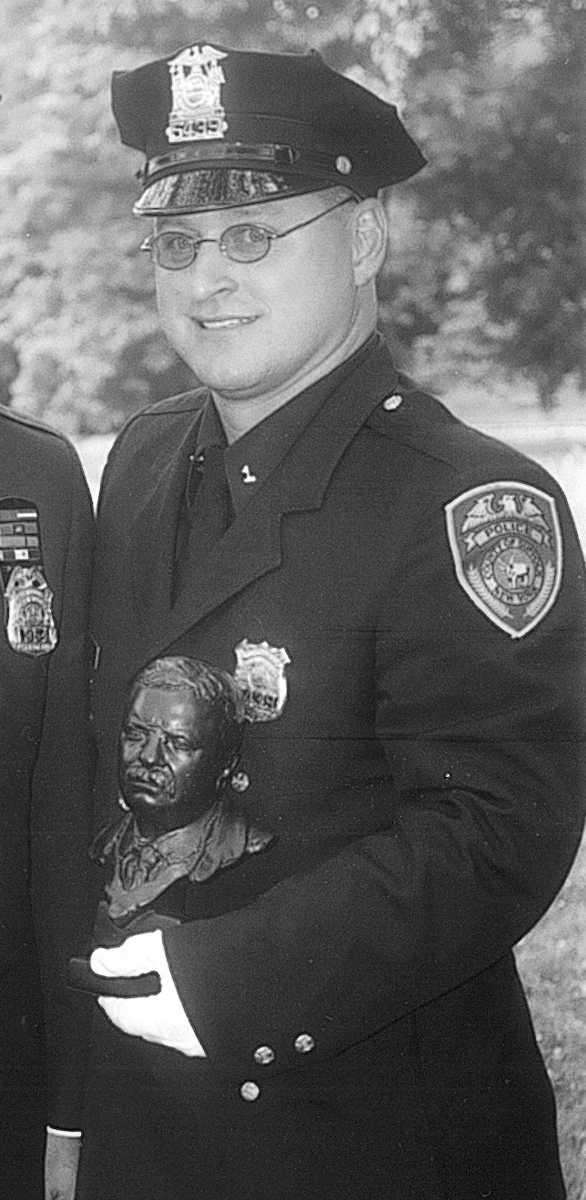 Officer Kenneth Ripp of the Suffolk County Police