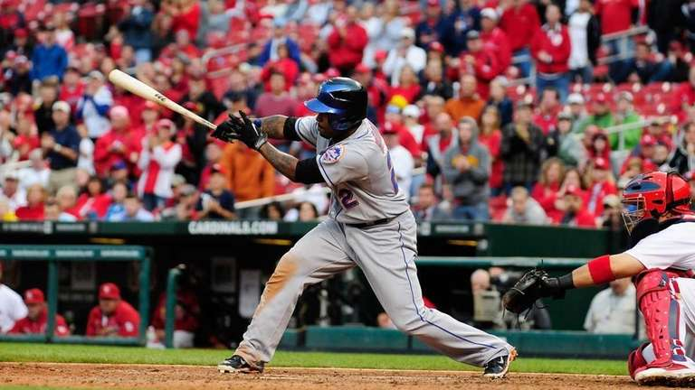 Willie Harris #22 of the New York Mets